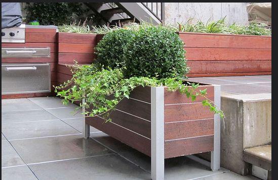 Jak zbudować donicę do ogrodu lub parku?
